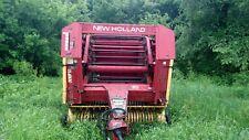 1989 853 New Holland Round Baler