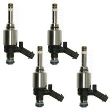 Set of 4 Standard Fuel Injectors for Audi A3 A4 A6 Q3 TT Q VW Jetta Passat CC L4