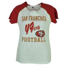 NFL San Francisco 49ers Football Womens Tshirt Tee Ladies Short Sleeve Large