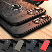 For Google Pixel 3 XL Luxurry Shockproof Rubber Slim TPU Leather Back Case Cover