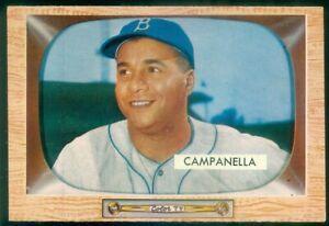 1955 BOWMAN #22 ROY CAMPANELLA EX