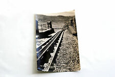 Used Black and White Postcard [1] - Real Photograph - Snowdon Mountain Railway