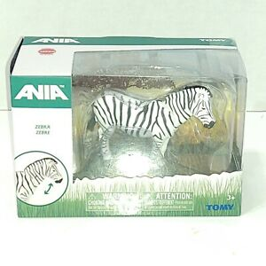 Tomy Ania Zebra Animal Figure Articulated T16071 - ages 3+ new