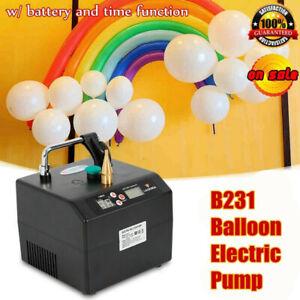 B231 Lagenda Portable Electric Balloon Pump Balloon Inflator Party Air Blower