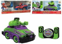Marvel Super Hero Adventures Spider Man Hulk Ages 3+ Toy Remote Control Car Hero