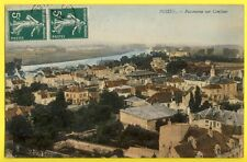 cpa France POISSY Ecrite en 1910 (Yvelines) Panorama sur CONFLANS Ste HONORINE