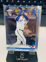 2019 TOPPS CHROME UPDATE ROOKIE DEBUT CAVAN BIGGIO #64 TORONTO BLUE JAYS RC