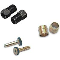 Tektro Hydraulic Brake Hose Shortening Kit Olive & Barb Pin Connectors