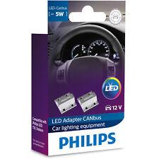Philips Canbus Control Unit LED / Cancelación Aviso Bombillas (Paquete Doble)