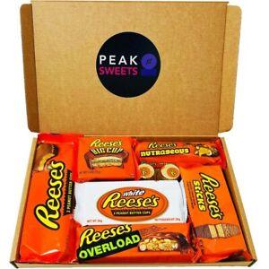 Reese's American Chocolate Box White & Milk 8pc Birthday Easter Chocolate Hamper