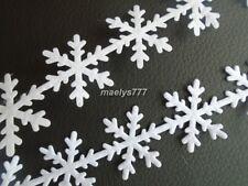 Etoile De Neige Ruban Flocon Blanc décoration Noel *25mm*vendu au mètre