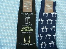 2 Pairs Tommy Bahama Dress Socks Tequila Shot and Flamingo Love *NWT*
