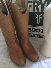 Vintage Frye Western Cowboy Boots Women Size 7B