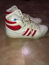 Adidas TOP TEN High Top Sneakers White C75322 Running Sz 10