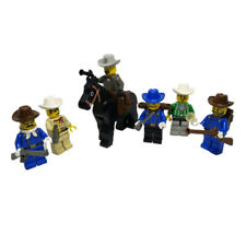 LEGO 6 Cowboys Ranger Marshall Fort Legoredo Western 6755 6769