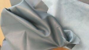 "Scraps Italian Lambskin Leather Skin Hide Lamb Dark Teal  ""Big Pieces""  10 oz"