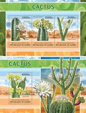 Cactus Kaktus Flora Flowers Blumen Guinea MNH stamp set