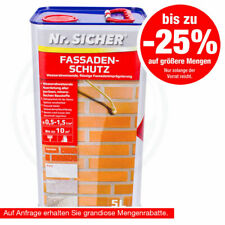 Nr. Sicher - Fassadenschutz Wasserabweisende Flüssige Fassadenimprägnierung
