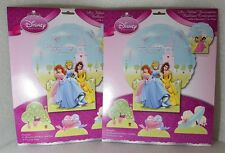 Disney Princess Balloon Centerpiece with Character Cut-Outs. 2 PACK!