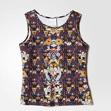 Genuine Adidas Originals by Mary Katrantzou - Women's 'BoyFriend' Tank Top Vest