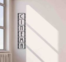 Cinema Wall Decal Film Strip Movie Vinyl Sticker Home Theater Decor Poster 694