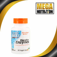 Doctors Best Digestive Enzymes 90 Veggie Caps   Digestion Healthy Gut Probiotic