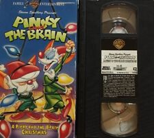 Pinky and The Brain Christmas(VHS,1996)TESTED-RARE VINTAGE COLLECTIBLE-SHIP N 24