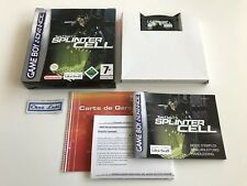 Splinter Cell - Nintendo Game Boy Advance GBA - PAL EUU - Avec Notice