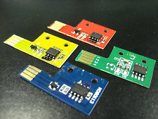4 Toner Chip (BCMY) for Xerox Phaser 6130, 6130N Color Laser Printer Refill