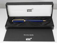 Montblanc Noblesse Oblige Blue GT Ballpoint Pen MINT