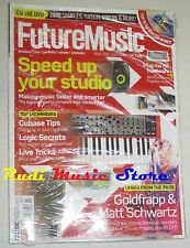 FUTURE MUSIC Magazine SEALED 202/2008 + dvd Speed Up Your Studio Matt Schwartz