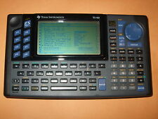 TEXAS INSTRUMENT TI-92 GRAPHING CALCULATOR WITH PROTECTIVE COVER