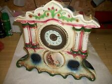 Antique Royal Vienna Porcelain Mantle Clock - Project