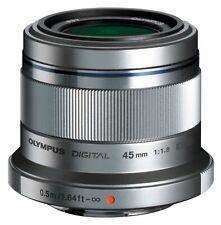 Olympus M.Zuiko Digital 1,8 / 45 mm  Objektiv B-Ware silber