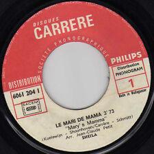 SHEILA LE MARI DE MAMA / OUI, JE T'AIME MADAGASCAR 45 SINGLE