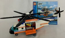 LEGO 7738 City Coast Guard Helicopter ONLY NO BOX NO FIGURES NO LIFE RAFT
