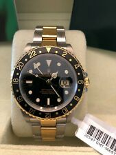 Rolex GMT-Master II Steel-and-18k-gold 16713 Black Dial Men's 40-mm Automatic-se