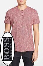 NWT Hugo Boss Black Label By Hugo Boss Slim Fit Polo Shirt Linen Blend Size XXL