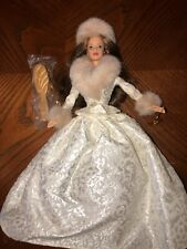 Winter Evening Barbie W/ Stand EUC GORGEOUS !