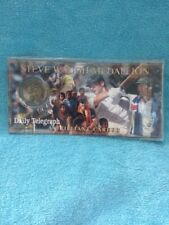 Steve Waugh Medallion And Card Sealed Australian Cricket Daily Telegraph