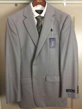 NWT RALPH BY RALPH LAUREN Light Gray 40L Reg Fit SPORT COAT Silk Wool MSRP$295