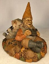 Cookie Break-R 1994~Clark/Wolfe Gnome~Item #6316~Ed #75~Signed by Both~w/Story