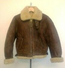 CHEVIGNON TOGS FLYING WEAR Genuine Sheepskin  B-3 Style Jacket - Made in France