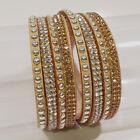 Bracelet Strass Cristal Stardust Brésilien Manchette Slake Wrap Cascade Effilé
