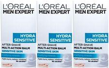 LOreal Men Expert Hydra Sensitive Post Shave Balm (3 x 100ml)