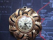 vintage ladies corocraft pendant watch, for repairs mechanical,non running