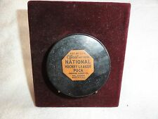 RARE PALET OFFICIAL ART ROSS NATIONALHOCKEY LEAGUE PUCK CONVERSEU RUBBER  US A
