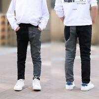 IENENS Boys Jeans Denim Trousers Clothes Kids Children Boy Skinny Cowboy Pants