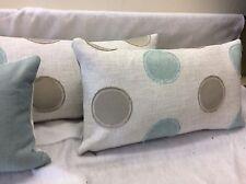 pkt 2 designer villa nova provence spotted cushions