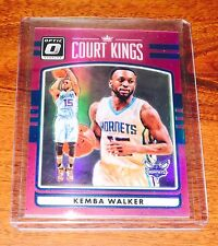 2016-17 Optic KEMBA WALKER PINK /25 COURT KINGS PINK REFRACTOR! RARE